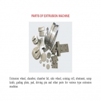 Parts of extrusion machine